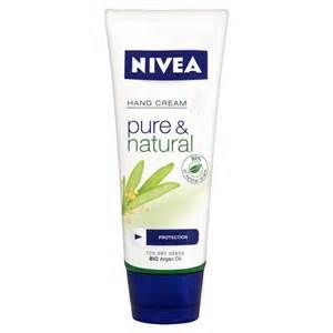 Nivea Pure and Natural Hand Cream