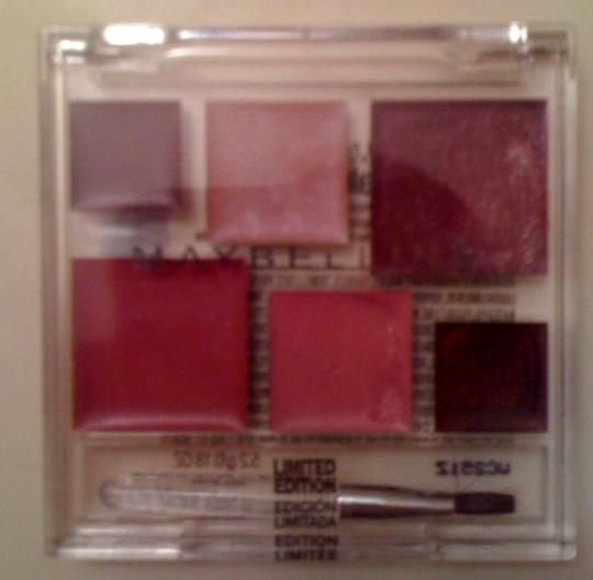 Maybelline Holiday Lip Pallette - LE 2006