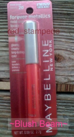 Maybelline Blush Beam metallics (Uploaded by redstampede)
