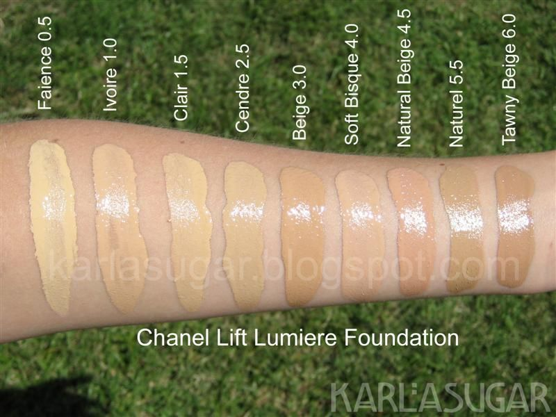 Chanel Lift Lumiere Fluid Photos Ingredients
