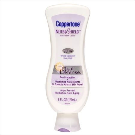 Coppertone NutraShield Dual Defense 70+SPF