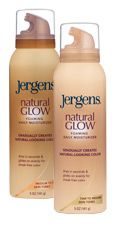 Jergens Natural Glow Foaming Daily Moisturizer-Fair to Medium