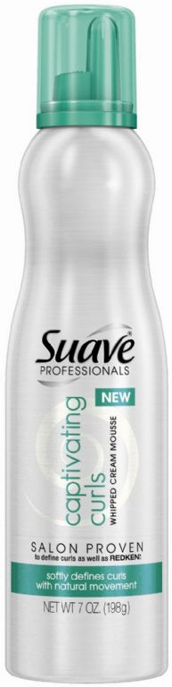 Suave Professionals Captivating Curls Whipped Cream Mousse