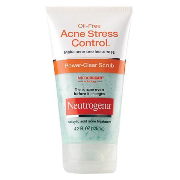 Neutrogena Oil Free Acne Stress Control Power Clear Scrub Reviews