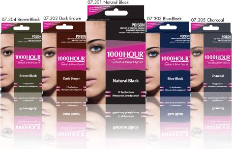 1000HOUR Eyelash & Brow Dye Kit