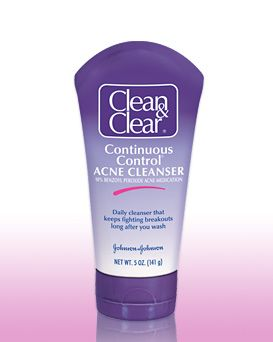 clean clear continuous control acne cleaner reviews photos ingredient. Black Bedroom Furniture Sets. Home Design Ideas