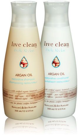 Live Clean (Exotic Nectar) - Argan Oil Restorative Shampoo
