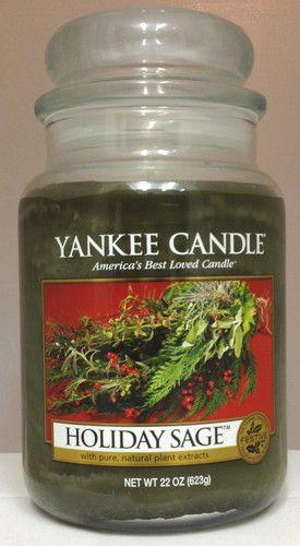Yankee Candles Holiday Sage reviews, photos, ingredients ...