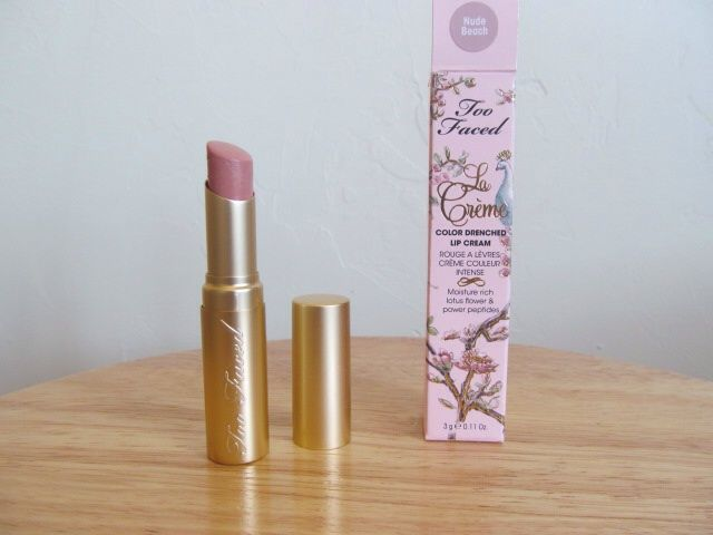 Too Faced La Creme Lipstick - Nude Beach