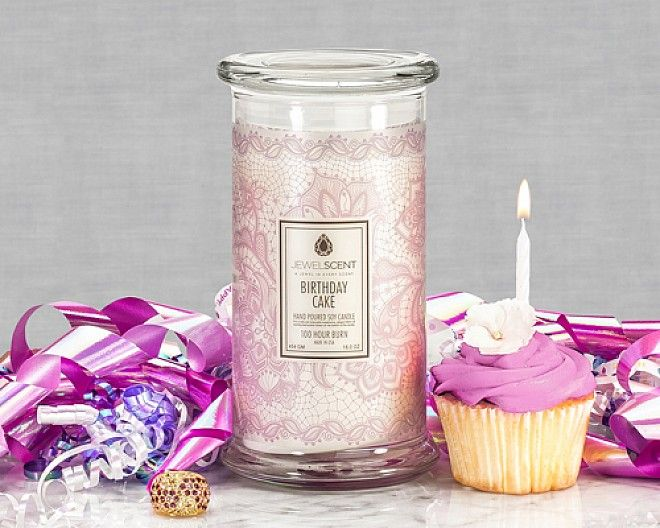 Jewel Scent Candles