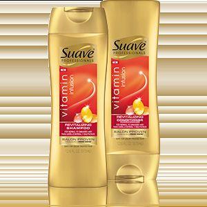 Suave Vitamin Infusion Shampoo