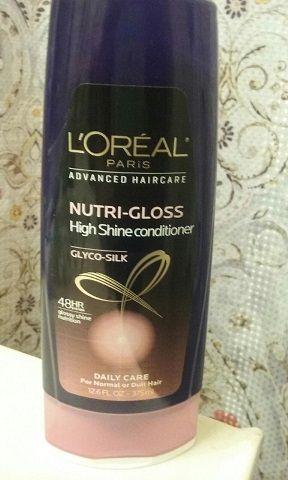 L'Oreal Elvive Nutri-Gloss conditioner