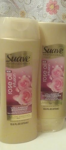 Suave Rose Oil Infusion