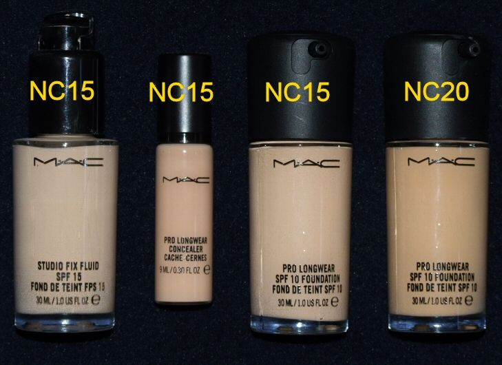 Claims for MAC Pro Longwear Foundation Review, Swatches, FOTD