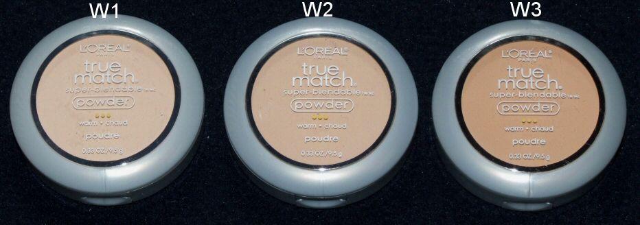 True Match Super-Blendable Powder Loreal ...