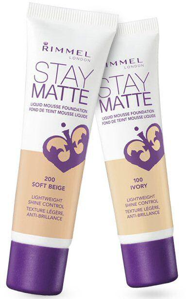 ... Stay Matte Liquid Mousse Foundation ...