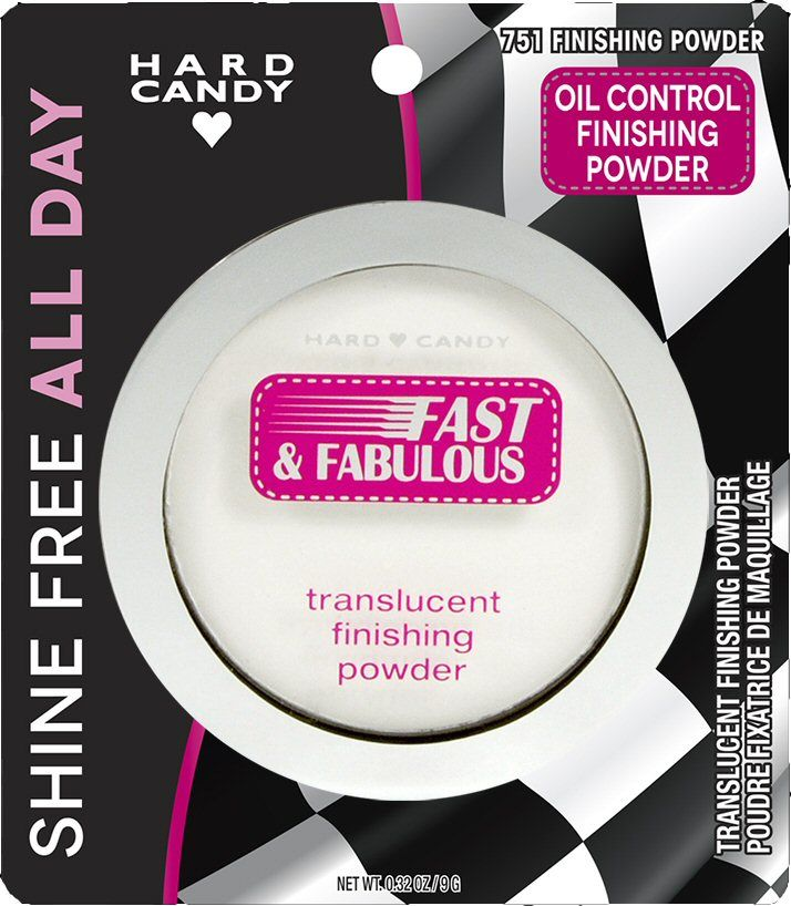 Hard Candy Fast & Fabulous Translucent Finishing Powder Oil Control