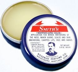 Smith's Rosebud Salve Smith's Mentholated Salve