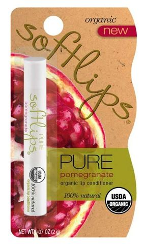 SoftLips Pure Pomegranate Organic Lip Conditioner