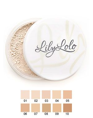 Lily Lolo Mineral Foundation China