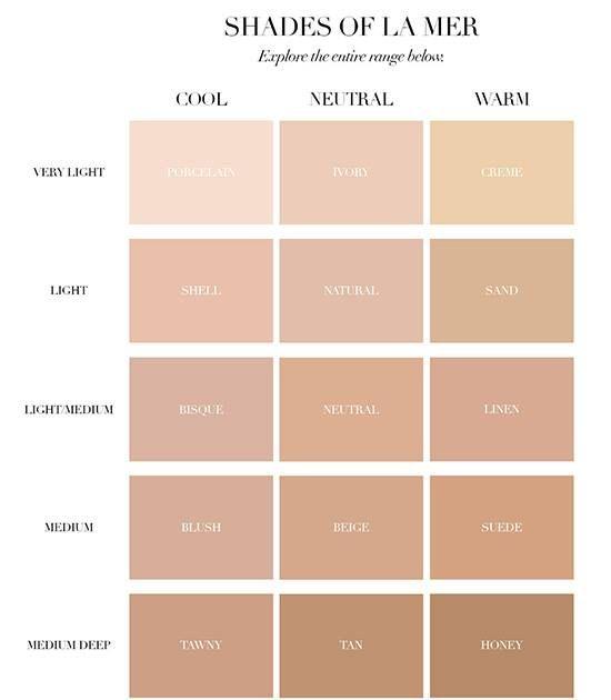 La Mer Skin Color Foundation