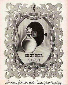 Caron Or et Noir