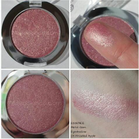 Essence Metal Glam frosted apple eyeshadow reviews photo