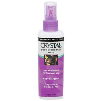 Crystal Crystal Body Deodorant Spray
