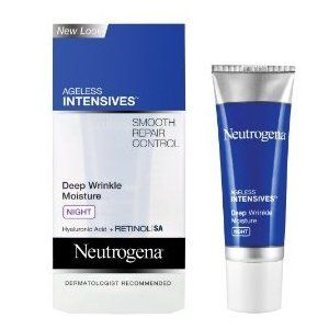 Neutrogena Ageless Intensives Deep  Wrinkle Moisture Night