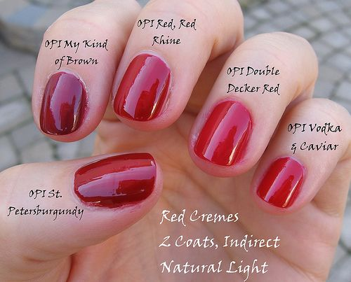Opi Double Decker Red Reviews Photos Ingredients