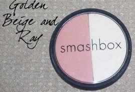 Smashbox Blush & Soft Lights Duo - Smashing Golden Beige / Ray