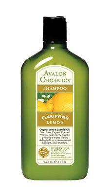 Avalon Organics Botanicals Lemon Clarifying Shampoo