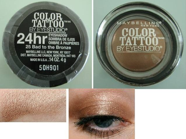 Maybelline New York Color Tattoo Bad To The Bronze On And On