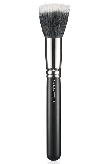 MAC #187 Duo Fiber Face Brush (Stippling, Skunk Brush