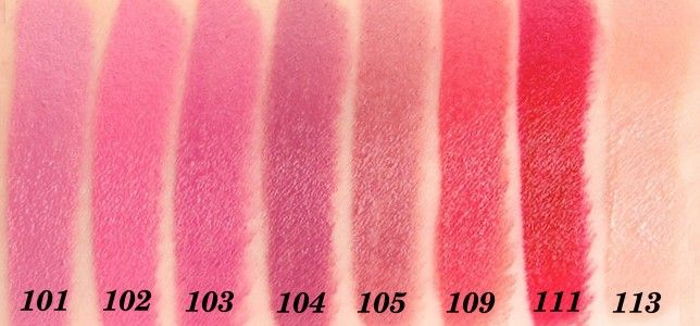 Rimmel Lasting Finish by Kate Moss [all shades] reviews, photos ...