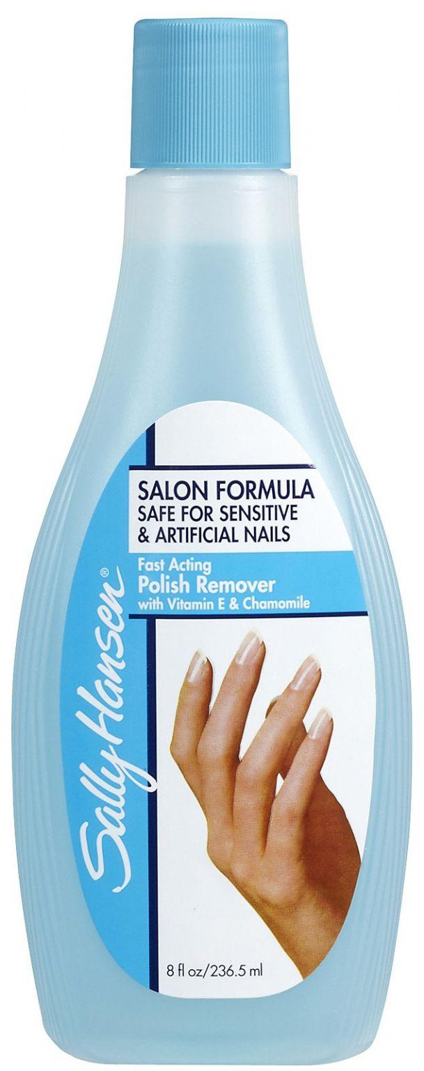 Sally Hansen Salon Formula Safe For Sensitive And Artificial Nails Fast Acting Polish Remover