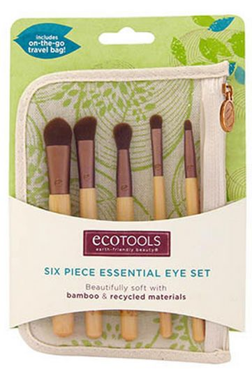 Bamboo Makeup Brushes: EcoTools Bamboo Six Piece Essential Eye Set Reviews, Photo