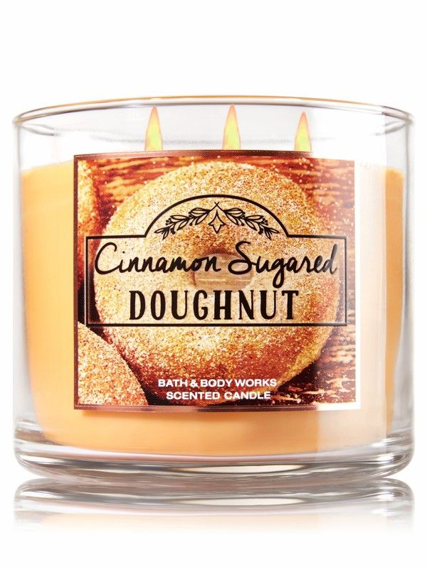 Bath and Body Works Cinnamon Sugared Donut