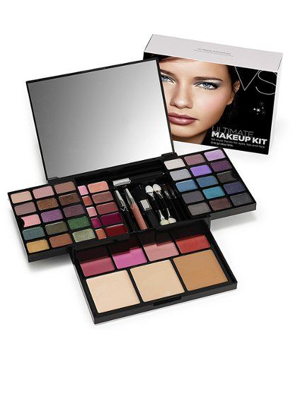 11e92d0751008 Victoria's Secret Ultimate Makeup Kit - (50 must-haves for eyes ...