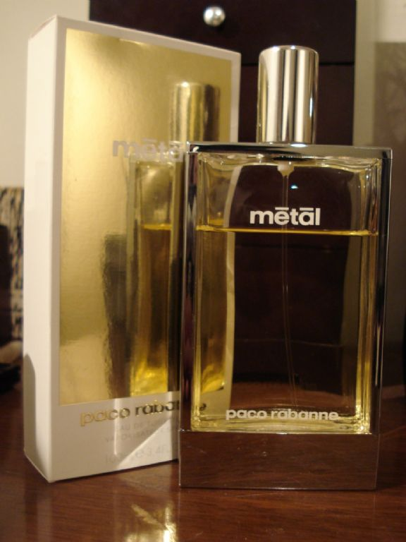 paco rabanne metal perfume
