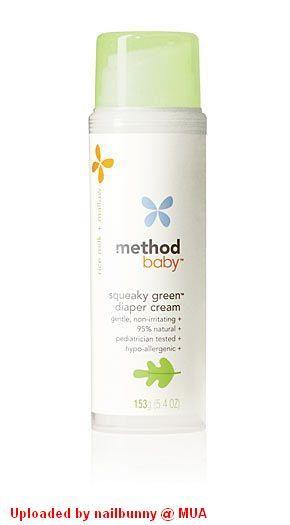 Method Baby Diaper Cream