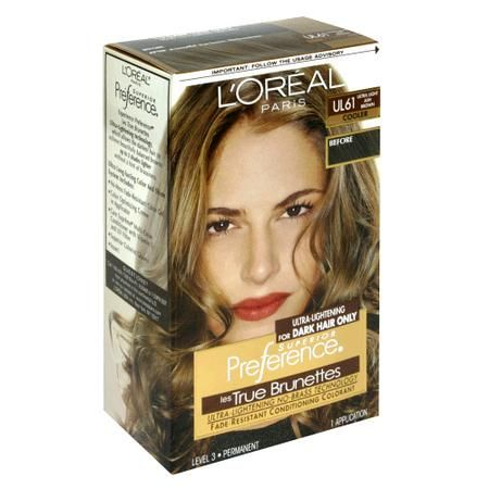 L'Oreal Preference True Brunettes