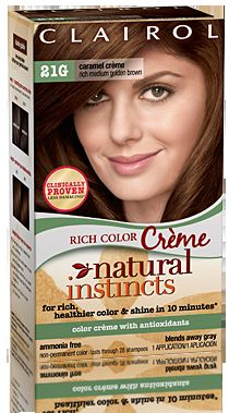 Clairol Natural Instincts Rich Color Creme in Caramel Creme #21G