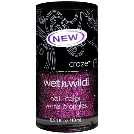 Wet 'n' Wild craze nail color - Glitz