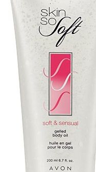 Avon SSS Soft and Sensual Gelled Body Oil