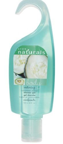 Avon Naturals Shower Gel-Cucumber Melon