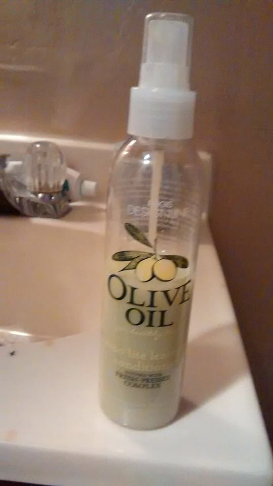 Designline olive oil leave in conditioner  (Uploaded by coffeelover1989)
