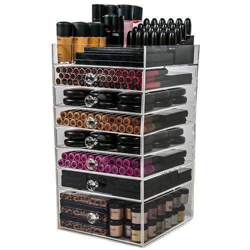 n2 cube makeup organizer box 8 drawer reviews photos
