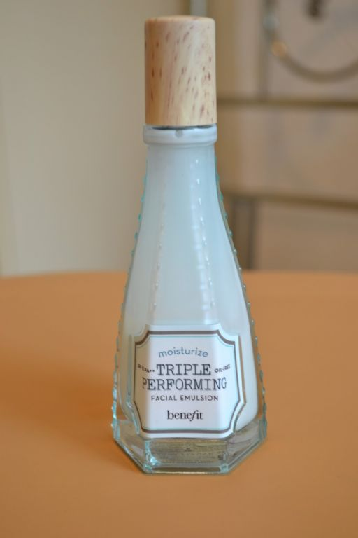 BeneFit Cosmetics b right triple performing facial emulsion