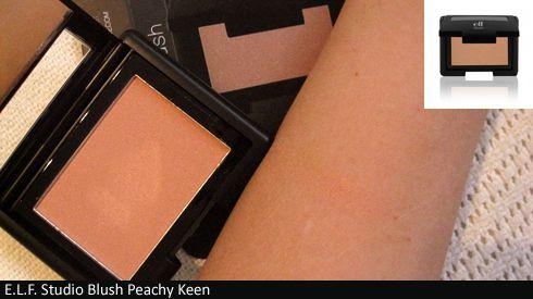 E.L.F. Studio Blush Peachy Keen (Uploaded by Yum3ji)